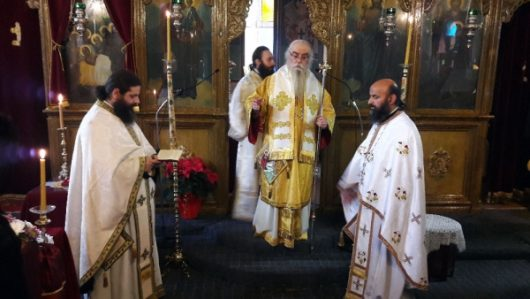 Με λαμπρότητα τιμήθηκε η μνήμη του Αγίου Διονυσίου στην παραμεθόριο της πατρίδος μας