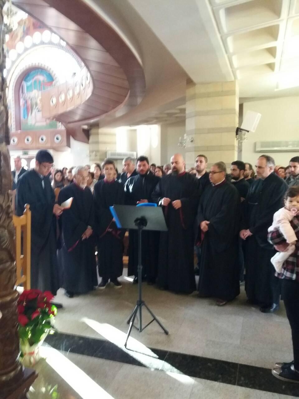 Ιερά Αγρυπνία Ιερός Ναός των Αγίων Κωνσταντίνου και Ελένης Τσερίου Λευκωσίας