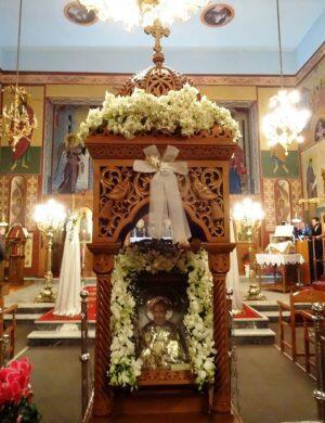 Λέρος: Αρχιερατικός Εσπερινός Αγίου Νικολάου, πολιούχου πόλεως Λακκίου