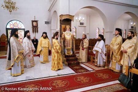 Με λαμπρότητα τιμήθηκε ο Άγιος Σπυρίδωνας στην Κουλούρα Ημαθίας