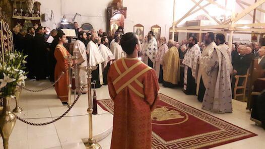 Λεμεσός: Χιλιάδες πιστοί στη λιτάνευση της Ιεράς Εικόνας του Αποστόλου Ανδρέα