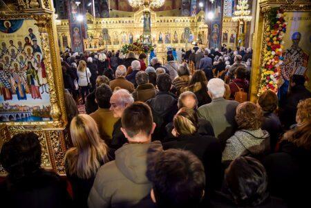 Κοσμοπλημμύρα στη Λάρισα στην Εορτή της μνήμης του Αγίου Νικολάου