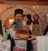 Μετεώρων Θεόκλητος και πλήθος πιστών στον Εσπερινό για την Αγία Βαρβάρα