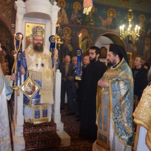 Σαλαμίνα: Πλήθος πιστών στην Εορτή της Μνήμης του Αγίου Νικολάου-Χειροθεσία Πρωτοπρεσβυτέρου