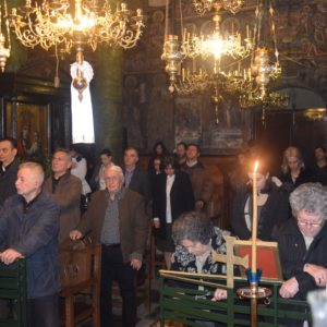Ξεχωριστή Θεία Λείτουργία στη γυναικεία Κοινοβιακή Ιερά Μονή Παναγίας Φανερωμένης