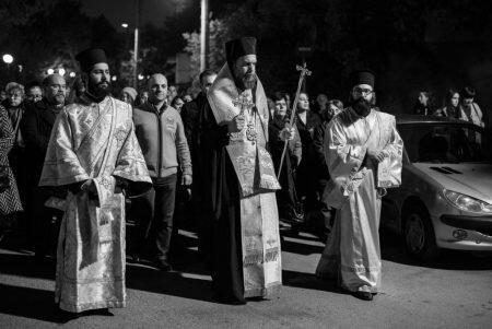 Μεγαλοπρεπής Λιτάνευση της Ιεράς Εικόνος του Αγίου Σπυρίδωνος στη Νέα Ιωνία