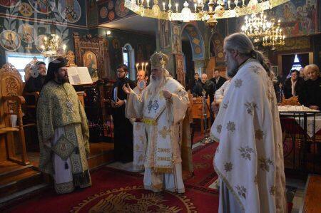Ο Νεαπόλεως Βαρνάβας στον Ιερό Ναό Αγίου Νικολάου στη Νεοχωρούδα