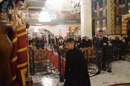 Νεάπολη: Αρχιερατικός Εσπερινός Χριστουγέννων στον Μητροπολιτικό Ι.Ν. Αγίου Γεωργίου