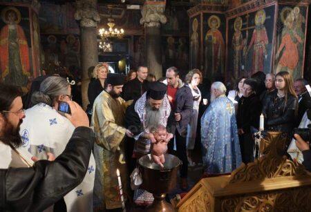 Η πρώτη βάπτιση από τον Μετεώρων Θεόκλητο
