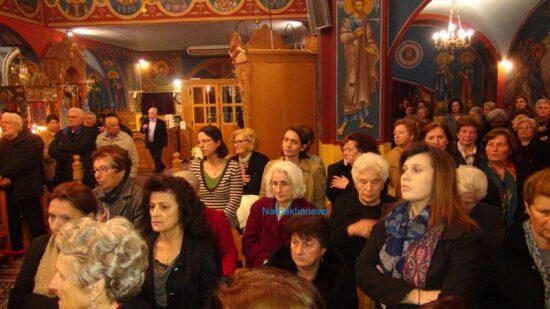 Πλήθος πιστών στον Αρχιερατικό Εσπερινό στον Άγιο Νικόλαο Αντιρρίου
