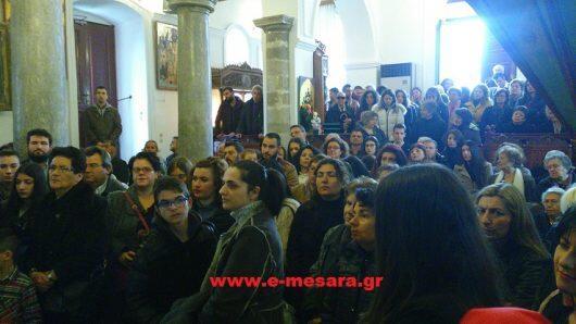 Εκατοντάδες πιστοί σήμερα στην Εορτή των Αγίων Δέκα Μαρτύρων