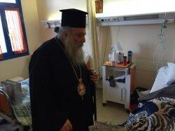 Νάξος: Τους ασθενείς του Γενικού Νοσοκομείου επισκέφθηκε ο Παροναξίας Καλλίνικος