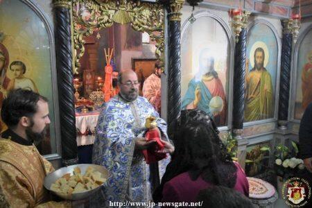 Η Εορτή της Συλλήψεως της Αγίας Άννης στο Πατριαρχείο Ιεροσολύμων