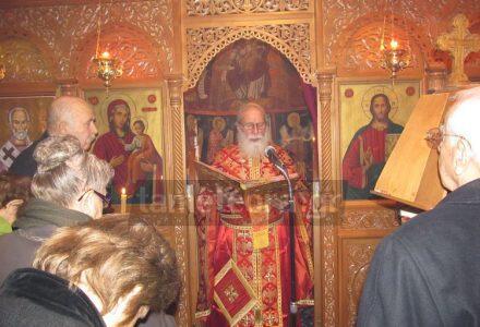 Λαμπρή Πανήγυρις στο παρεκκλήσι του Αγίου Νικολάου Καλαμπάκας