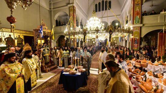 Στον Ιερό Ναό Αγίου Νικολάου Λαγυνών ο Επίσκοπος Πύργου Ηλίας