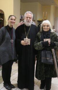 Ερμούπολη: Ευχές έδωσε και έλαβε ο Μητροπολίτης Σύρου Δωρόθεος