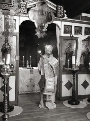 Ο Αρχιεπίσκοπος Τελμησσού Ιώβ στο Βατοπαιδινό Μετόχι του Αγίου Ανδρέου