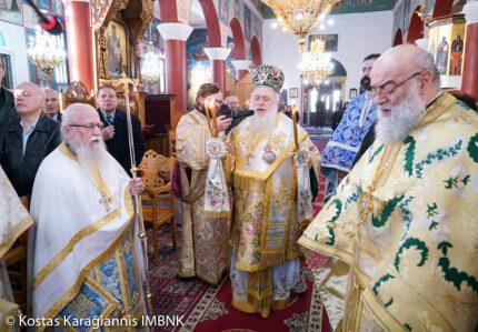 Θεσσαλονίκη: Αρχιερατική Θεία Λειτουργία στον Ιερό Ναό Αγίου Νικολάου Ανατολικού