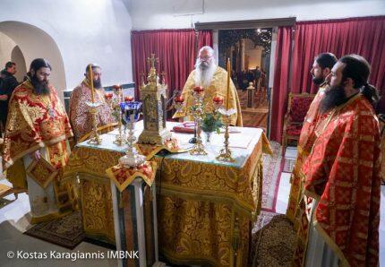 Βέροια: Μνημόσυνο Ιερομονάχου Ιωακείμ-Αγρυπνία για την εορτή του Αγ. Ιγνατίου