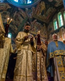 Χειροτονία Διακόνου π. Κωνσταντίνου Μπιθιγκότζη στον Ναό Αγίας Αικατερίνης Αμπελοκήπων
