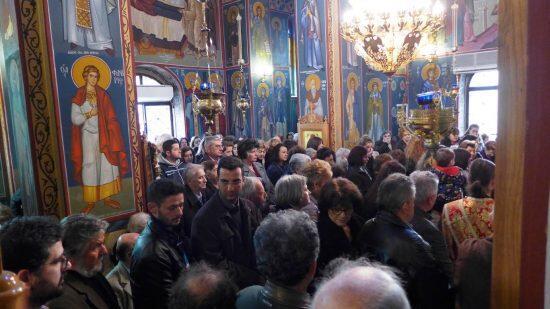 Ναύπακτος: Πανηγύρισε το Μητροπολιτικό Παρεκκλήσιο του Αγίου Διονυσίου