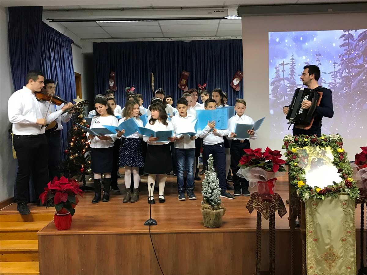παιδιά Κατηχητικών Γιόρτασαν Χριστουγεννιάτικα