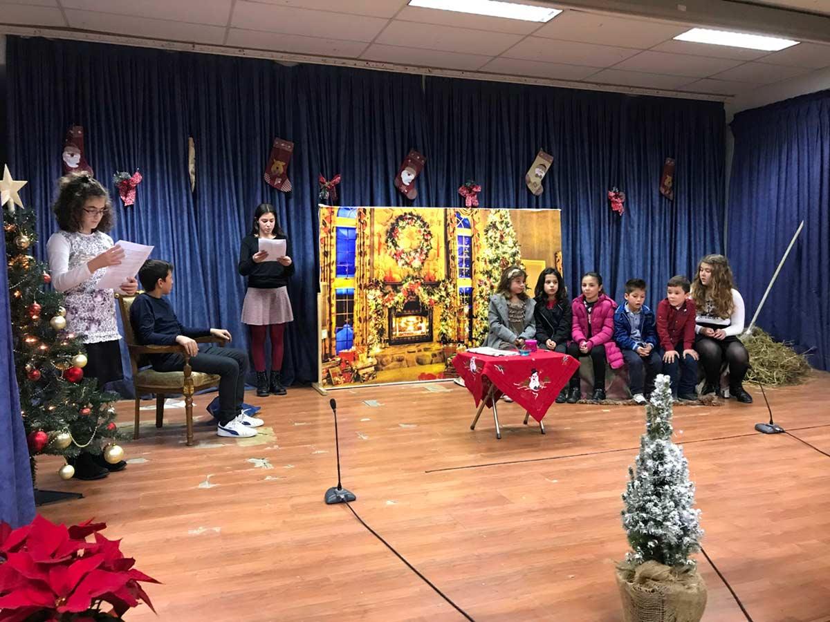 παιδιά Κατηχητικών Γιόρτασαν σε Μεθεόρτιο Χριστουγεννιάτικο Πνεύμα