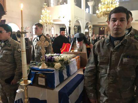 Κύπρος: Κηδεία Παπα-χρυσοστόμου από τον κατεχόμενο Δαυλό