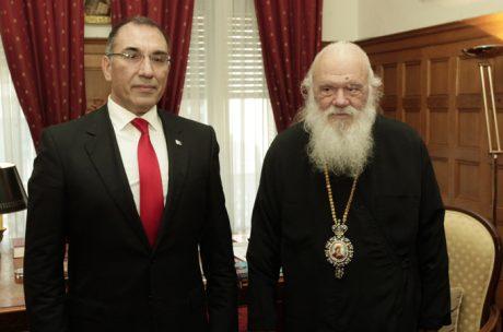 Αρχιεπίσκοπος για Σκοπιανό: «Η θέση μας είναι ξεκάθαρη»