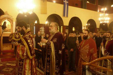 Πλήθος πιστών στην Εορτή του Μεγάλου Βασιλείου στη Νέα Φιλαδέλφεια