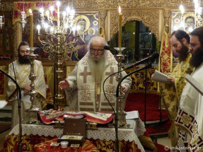 Καστοριά: Η αρχαιοπρεπής Θεία Λειτουργία του Αγίου Γρηγορίου του Θεολόγου