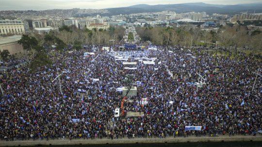 Μισό εκατομμύριο Έλληνες σήμερα για τη Μακεδονία-Μουδιασμένοι κυβέρνηση και Σκόπια