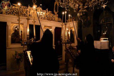 Ιεροσόλυμα: Λαμπρή Εορτή των Αγίων Γεωργίου και Ιωάννου των Χοζεβιτών