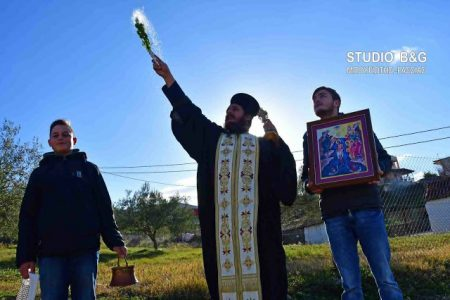 Ο Πρωταγιασμός των Θεοφανείων στο Ναύπλιο