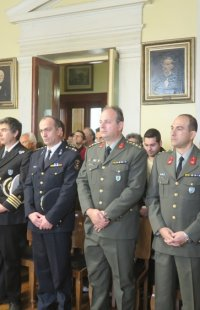 Ερμούπολη: Ευλογία της Βασιλόπιτας στο Δημαρχιακό Μέγαρο
