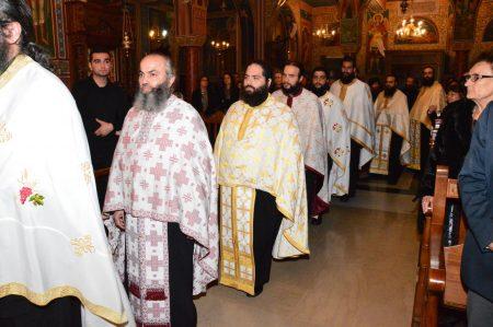Πλήθος πιστών στα ονομαστήρια του Λεμεσού Αθανασίου