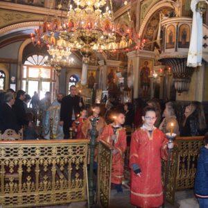 Σαλαμίνα: Απόδοση της εορτής των Θεοφανείων στον Ιερό Ναό του Αγίου Μηνά