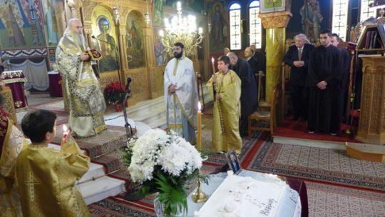 Ναύπακτος: Κυριακή μετά τα Φώτα στον Ιερό Ναό Αγίου Δημητρίου