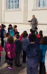 Ποιμαντικές επισκέψεις Σύρου Δωροθέου σε δημοτικό και παιδικό Σταθμό