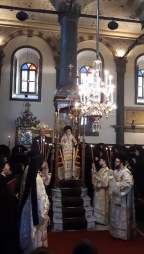 Η σημερινή Εορτή των Τριών Ιεραρχών στο Φανάρι