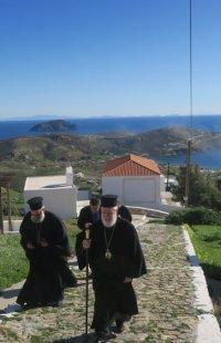 Το δημοτικό σχολείο Σερίφου επισκέφθηκε ο Σύρου Δωρόθεος