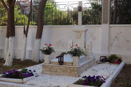 Τρισάγιο στον τάφο του Μακαριστού Χαλκίδος Γρηγορίου