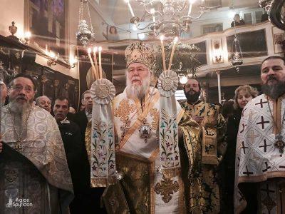 Κερκύρας Νεκτάριος: «Ο Άγιος Αντώνιος πολέμησε τον πειρασμό και αφιερώθηκε ολοκληρωτικά στον Ιησού Χριστό»