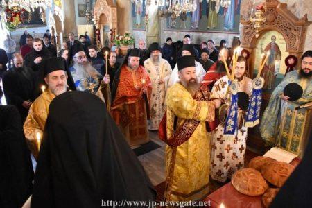 Λαμπρή Εορτή του Αγίου Θεοδοσίου στο Πατριαρχείο Ιεροσολύμων