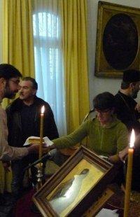 Τήνος: Ο Σύρου Δωρόθεος ευλόγησε την Πίτα των μελών της Φιλαρμονικής