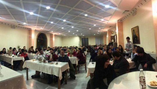 Εντυπωσιακή συμμετοχή νέων στη συνάντηση με Νέας Ιωνίας Γαβριήλ