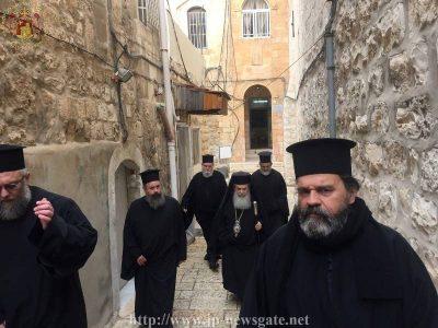 Η Εορτή του Αγίου Βασιλείου στο Πατριαρχείο Ιεροσολύμων