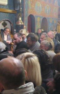 Η Εορτή της Οσίας Ξένης στο Μετόχι της Μητρόπολης Σύρου στην Αθήνα
