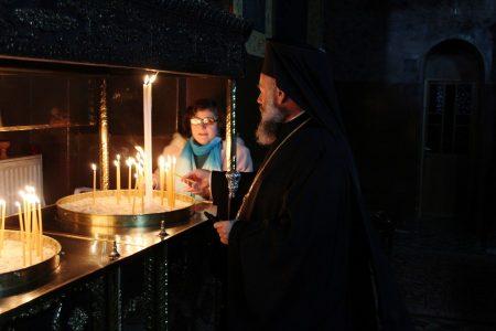 Εορτή της συνάξεως των Αγίων Τριών Ιεραρχών στη Μητρόπολη Θεσσαλιώτιδος
