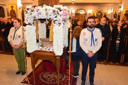 Η Λεμεσός υποδέχθηκε Ιερό Λείψανο του Αγίου Μεγαλομάρτυρος Δημητρίου